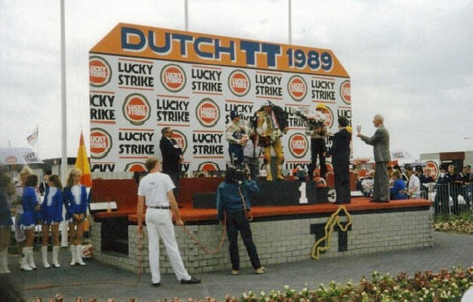 En Assen 1989 - Roth, Reinhold Roth, Jacques Cornu y Sito Pons